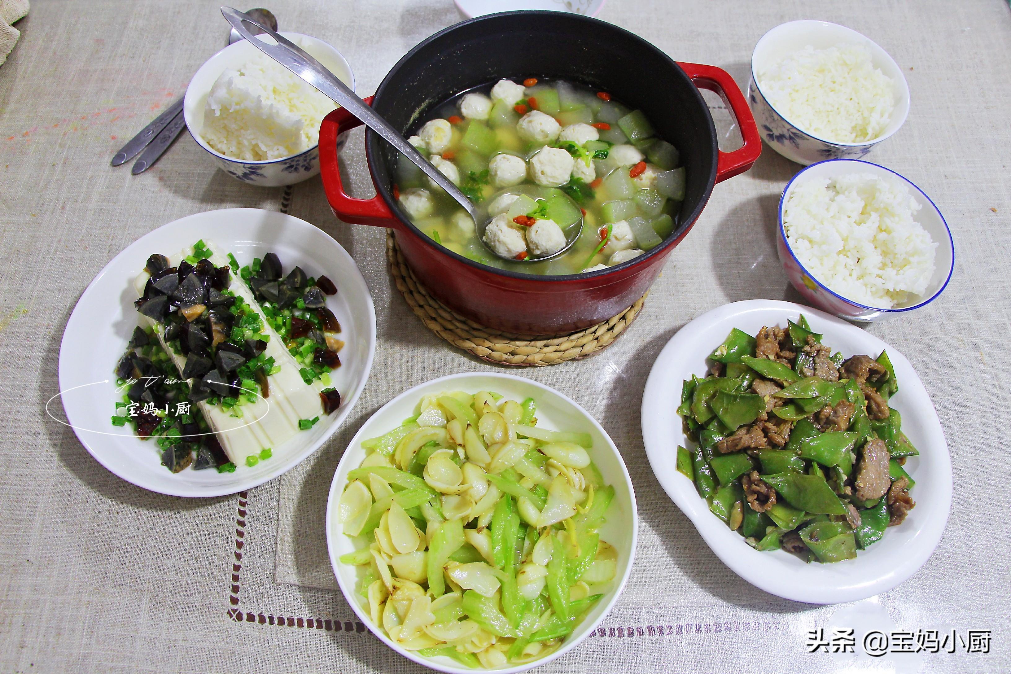 立秋以后,要常吃的菜,不秋燥还家常,4道美食一次都学会