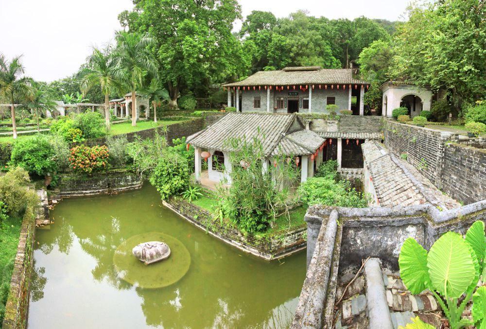 广西有座山水园林,是中国四大私人庄园之一,规模超乎你的想象