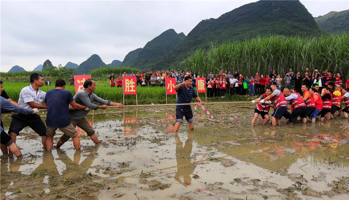 广西柳城:多彩活动庆丰收迎国庆