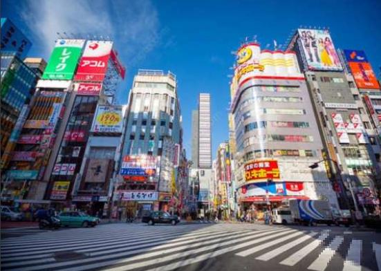 东京同志活动区域分布图