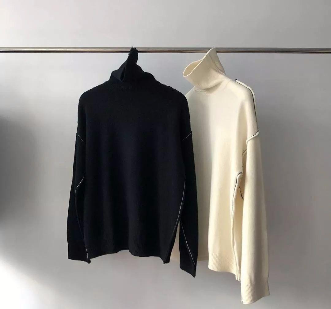 穿搭丨冬季如何搭好高领毛衣?