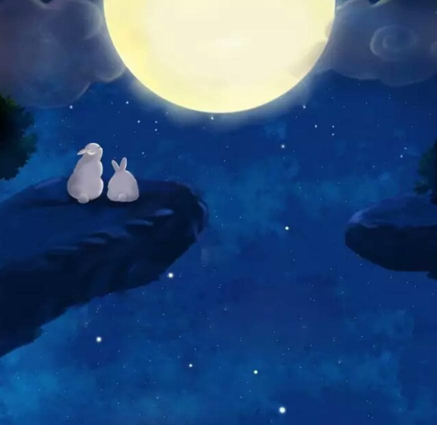 山水情画祝您中秋佳节快乐,团圆幸福!最美中秋祝福送给特别的你!